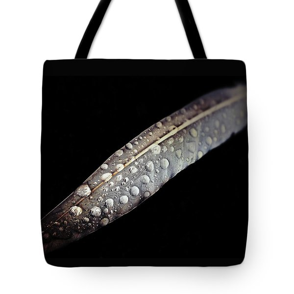 Feather Dew Tote Bag by Nicklas Gustafsson