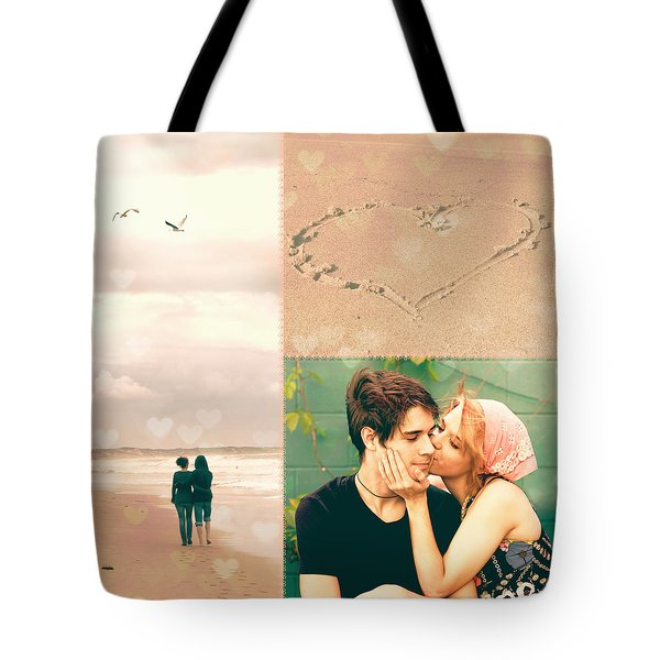 Young Love Tote Bag by Linda Lees