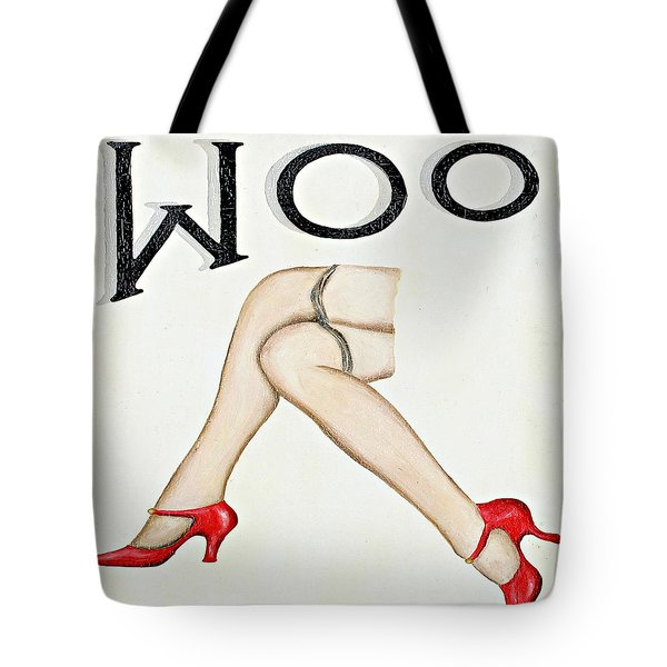 Woo Tote Bag by Ethna Gillespie