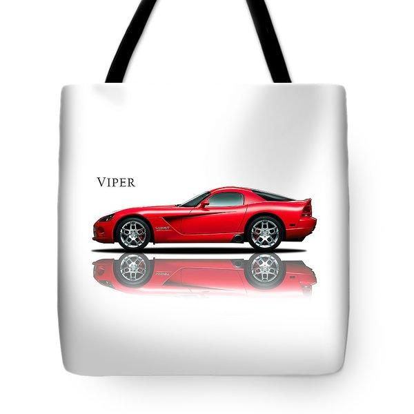 Dodge Viper Tote Bag by Mark Rogan