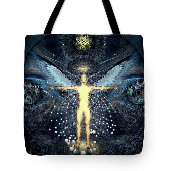 Ascension And Rebirth Tote Bag by Alex Polanco