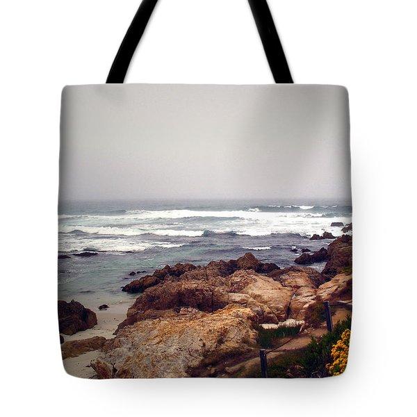 Asilomar Beach Pacific Grove Ca Usa Tote Bag by Joyce Dickens