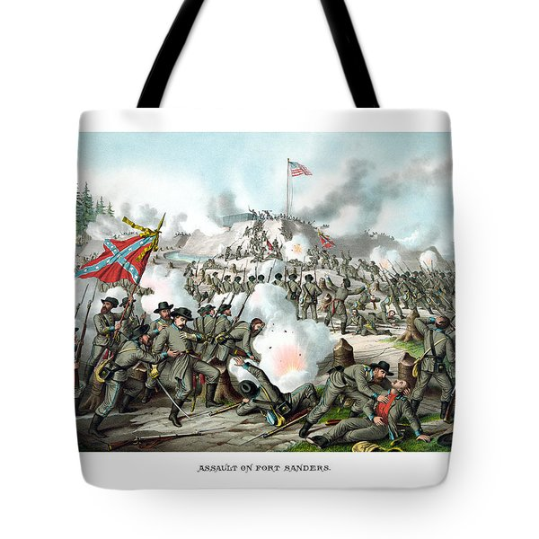 Assault On Fort Sanders Tote Bag by War Is Hell Store