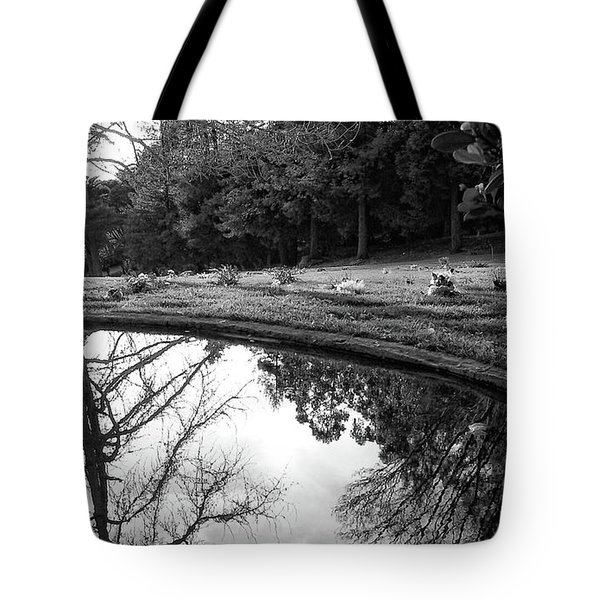 At Peace Tote Bag by Donna Blackhall