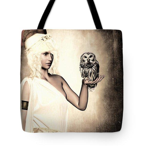Athena Tote Bag by Lourry Legarde