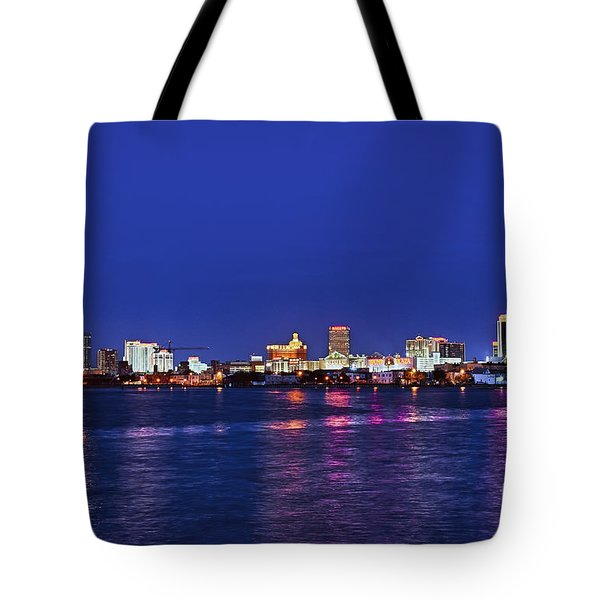 Atlantic City Skyline. Tote Bag by John Greim