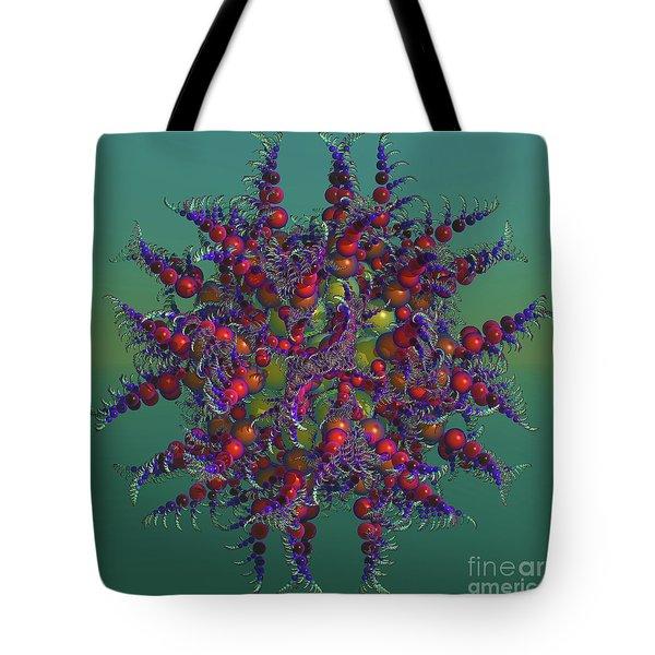 Atomic Design Tote Bag by Deborah Benoit