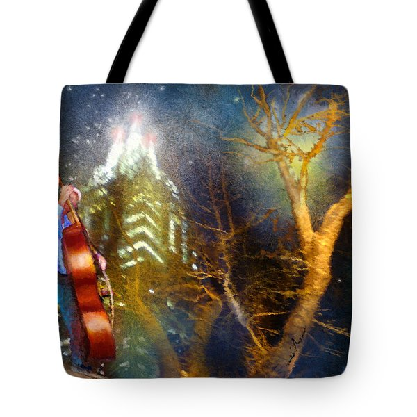 Austin Nights 02 Tote Bag by Miki De Goodaboom