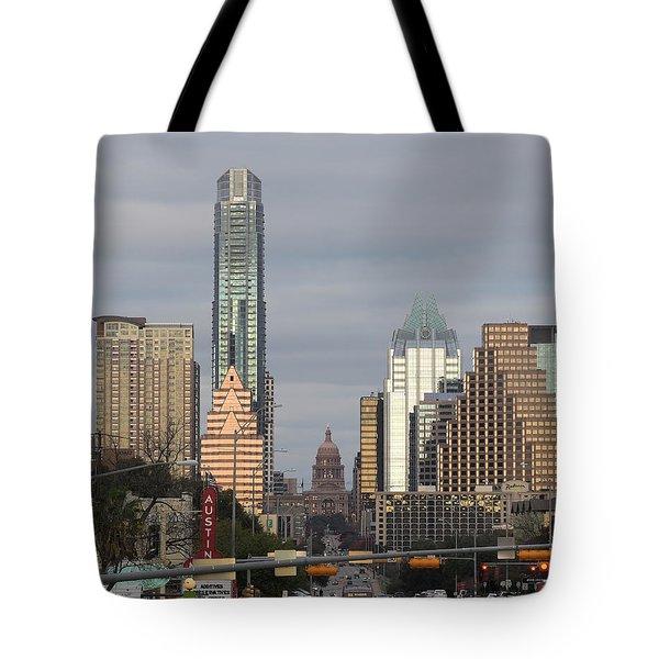 Austin Tote Bag by Rona Black