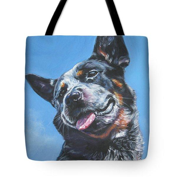 Australian Cattle Dog 2 Tote Bag by Lee Ann Shepard