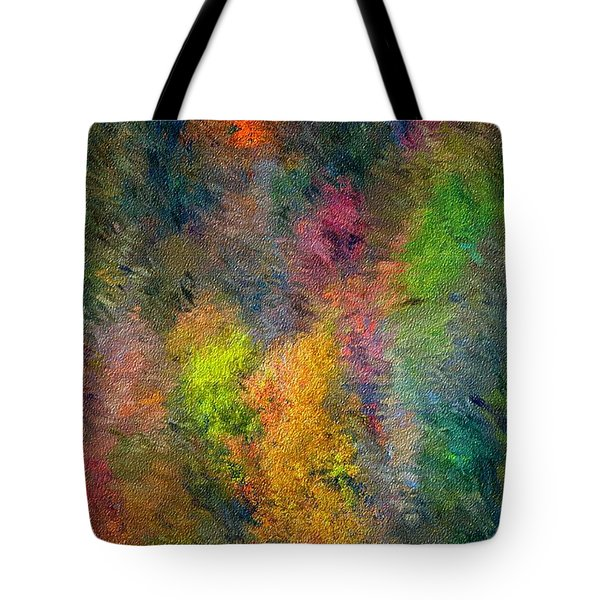 Autum Hillside Tote Bag by David Lane
