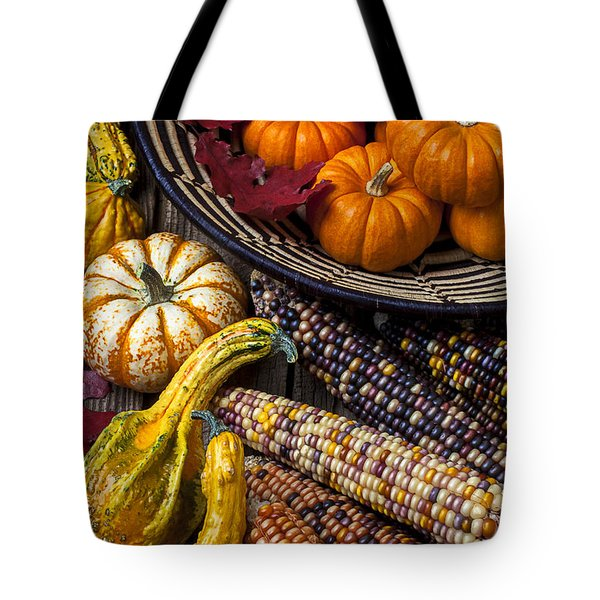 Autumn Abundance Tote Bag by Garry Gay