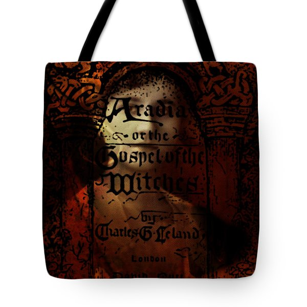 Autumn Aradia Witches Gospel Tote Bag by Rebecca Sherman