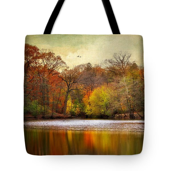 Autumn Arises 2 Tote Bag by Jessica Jenney