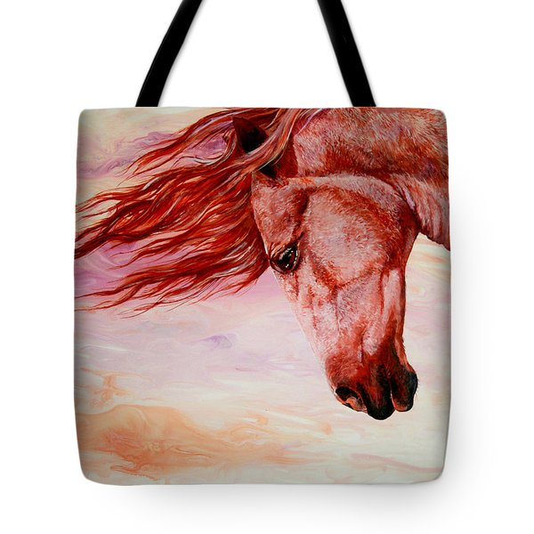 Autumn Breeze Tote Bag by Sherry Shipley