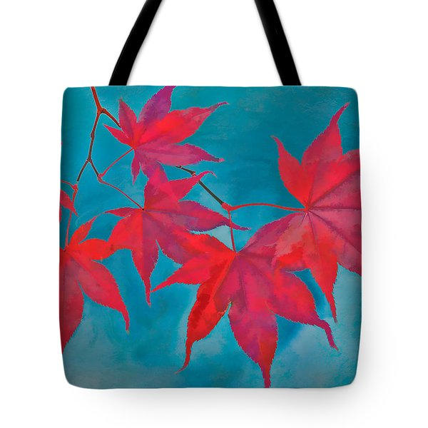 Autumn Crimson Tote Bag by William Jobes
