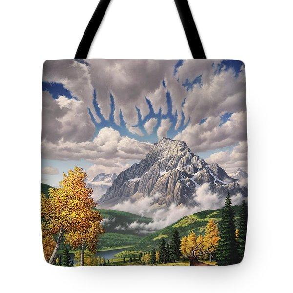 Autumn Echos Tote Bag by Jerry LoFaro