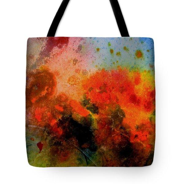Autumn Garden Tote Bag by Anne Duke