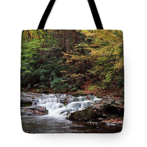 Autumn In The Smokies Tote Bag by Andrew Soundarajan