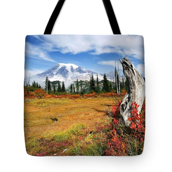 Autumn Majesty Tote Bag by Mike  Dawson