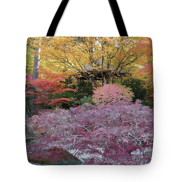 Autumn Purple Tote Bag by Carol Groenen