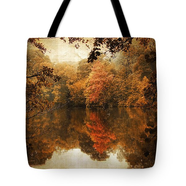 Autumn Reflected Tote Bag by Jessica Jenney