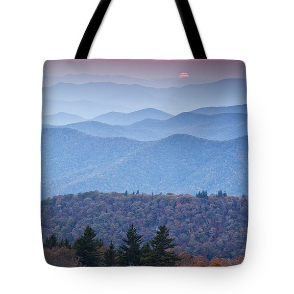 Autumn Sunset on the Parkway Tote Bag by Rob Travis