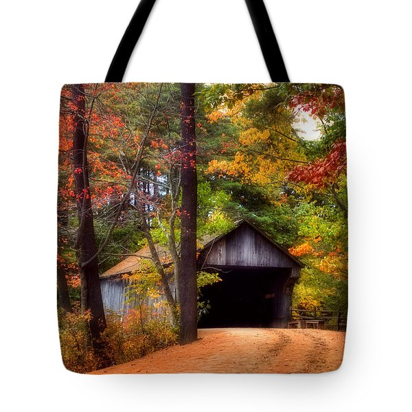 Autumn Wonder Tote Bag by Joann Vitali