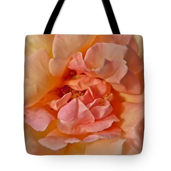 Autumns Rose Tote Bag by Gwyn Newcombe