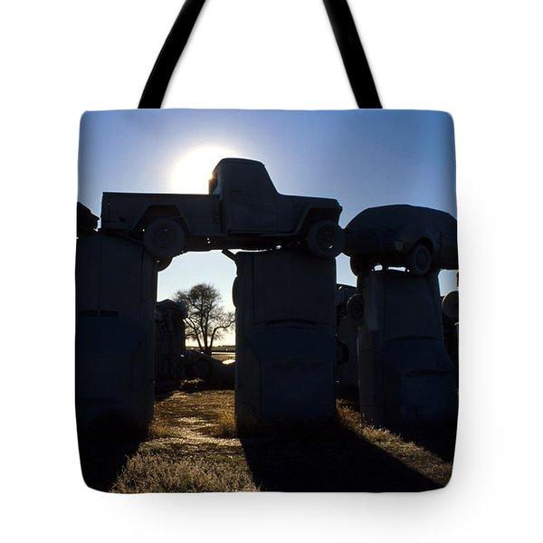 Awaiting The Aliens Tote Bag by Jerry McElroy