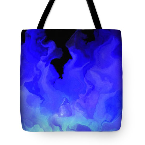 Awake My Soul - Abstract Art Tote Bag by Jaison Cianelli