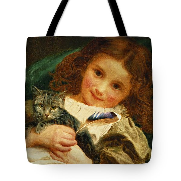 Awake Tote Bag by Sophie Anderson