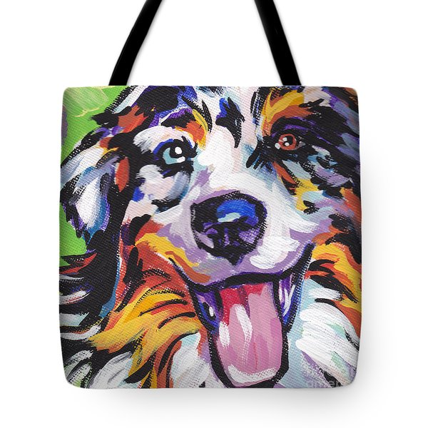 Awesome Aussie Tote Bag by Lea S