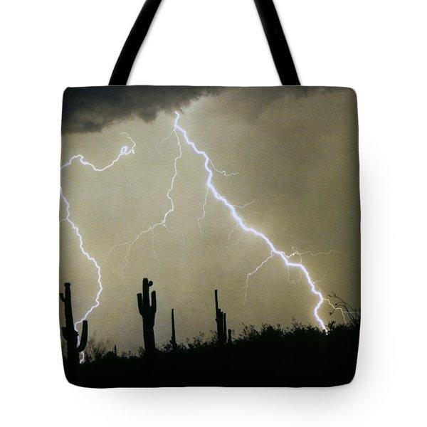 Az Desert Storm Tote Bag by James BO  Insogna