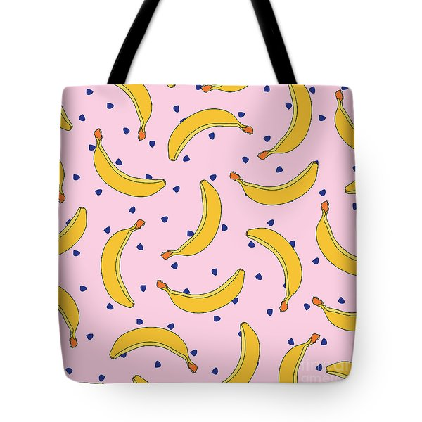 B-a-n-a-n-a-s Tote Bag by Elizabeth Tuck