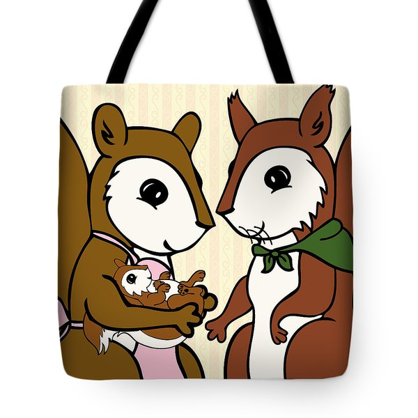 Baby Acorn Tote Bag by Christy Beckwith