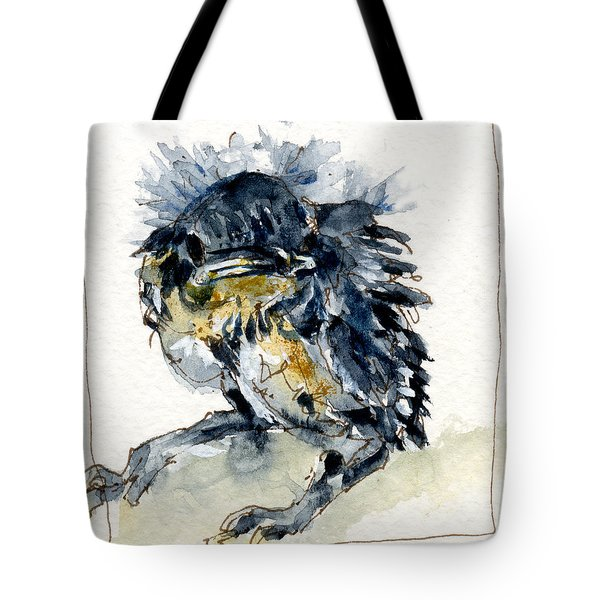 Baby Carolina Wren Tote Bag by John D Benson