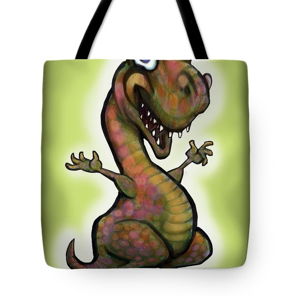 Babysaurus Rex Tote Bag by Kevin Middleton