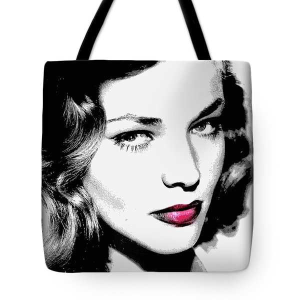 Bacall Tote Bag by WBK