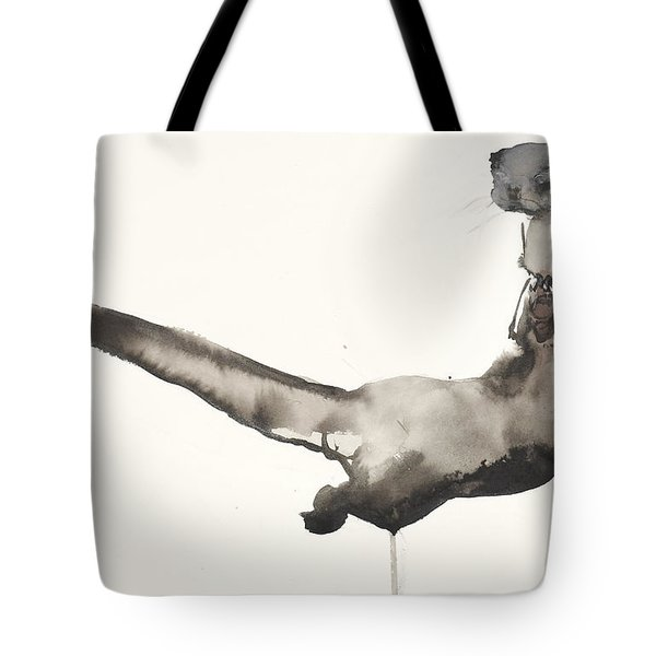 Back Awash   Otter Tote Bag by Mark Adlington
