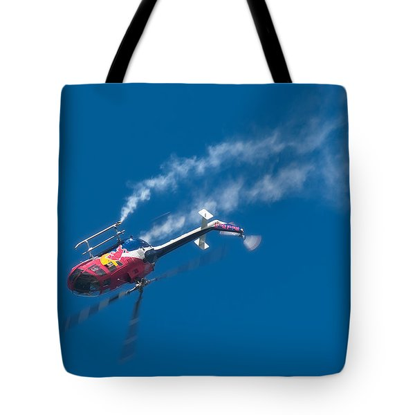 Backflip Tote Bag by Sebastian Musial