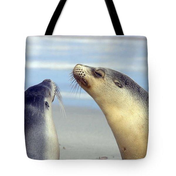 Backtalk Tote Bag by Mike  Dawson