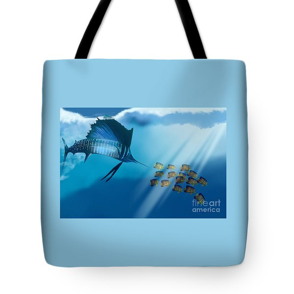 Bahama Beauty Tote Bag by Corey Ford
