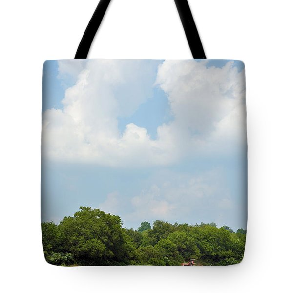 Bailing Tote Bag by Jan Amiss Photography