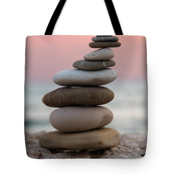 Balance Tote Bag by Stelios Kleanthous