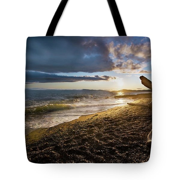 Balanced Evening Tote Bag by Mike Reid