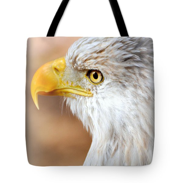 Bald Eagle 15 Tote Bag by Marty Koch