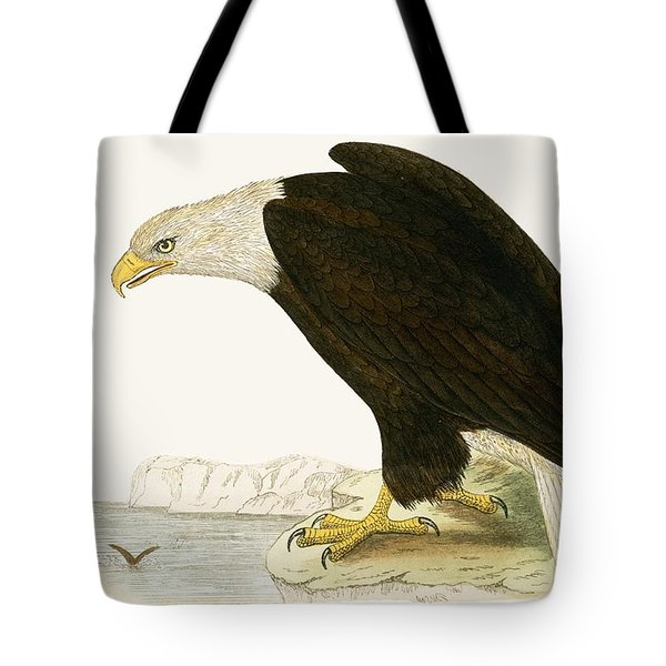 Bald Eagle Tote Bag by English School