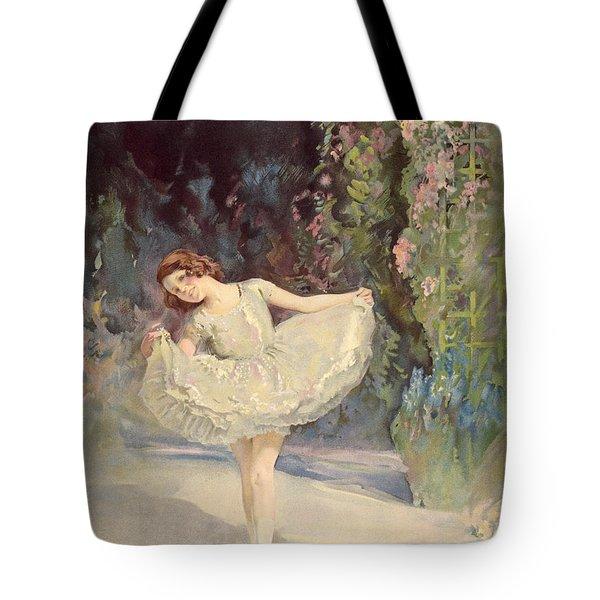 Ballet Tote Bag by Septimus Edwin Scott