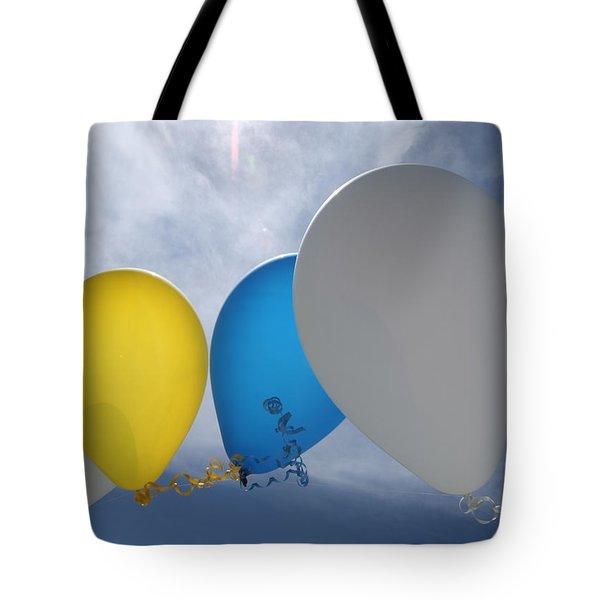Balloons Tote Bag by Patrick M Lynch